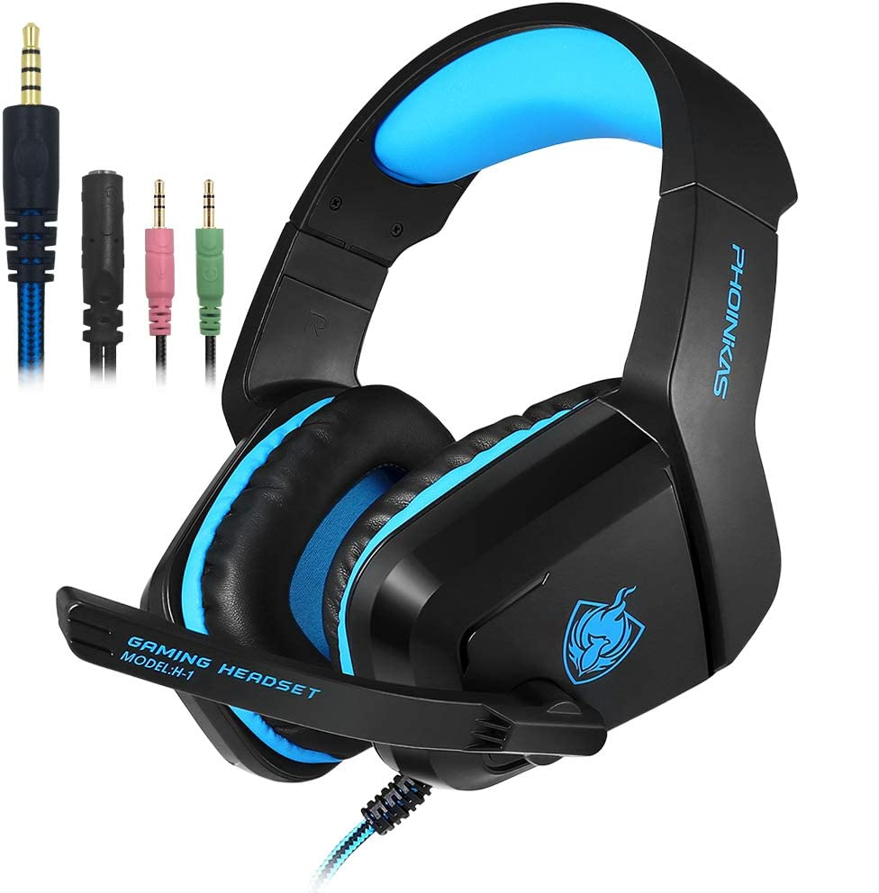Gaming Headset Earphone 3.5mm Jack with Backlit and Mic Oklahoma Mesa Mall City Mall LED Ster
