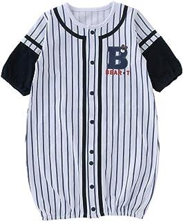 (チャックルベビー) chuckle ユニフォーム風 長袖ツーウェイオール 50-60cm ホワイト P5193-00-10