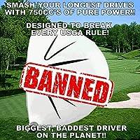 ホワイトゴーストsooolong Illegal non-conforming高Cor 750cc Huge距離Bannedゴルフドライバーコンポーネントヘッド