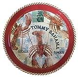 Tommy Bahama Large Melamine Round Serving Tray, Lobster Design