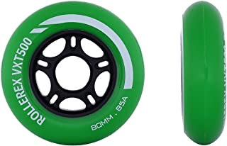 Rollerex VXT500 Inline Skate Wheels (2-Pack) (80mm)