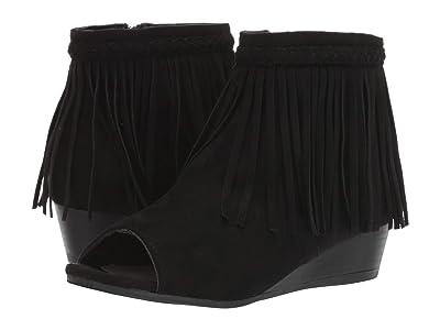 Sam Edelman Kids Kelley Fringe (Little Kid/Big Kid) (Black) Girls Shoes