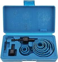 RanDal 12Pcs 19-76Mm Kit De Broca De Sierra De Perforación Kit De Broca Para Taladro Herramienta Para Trabajar La Madera