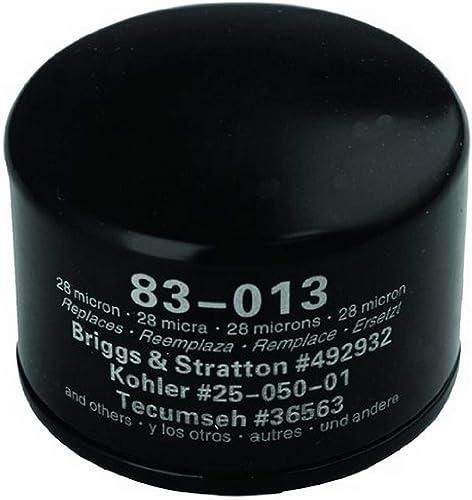 wholesale Oregon 83-013 Oil 2021 Filter Replaces Briggs & Stratton 492932S, Kohler outlet sale 28 050 01-S, Kawasaki 49065-7007 outlet sale