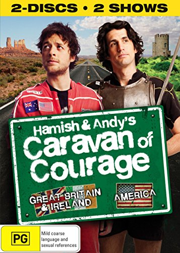 Hamish & Andy\'s Caravan of Courage - 2-DVD Set [ NON-USA FORMAT, PAL, Reg.2.4 Import - Australia ]