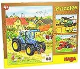 HABA 300444 - Puzzle, diseño de Tractor y compañía