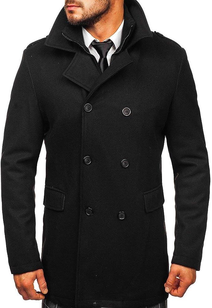 Bolf , cappotto doppiopetto per uomo PPM 8853
