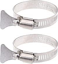 DOITOOL 10 ST/ÜCKE Schlauchschelle Edelstahl einstellbar 10-16mm Bereich Schneckengetriebe Schlauchschellen Sortiment Kit Rohrschellen