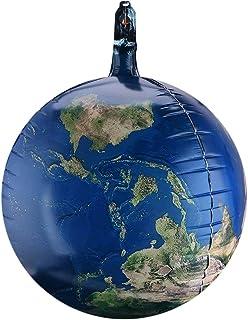 Toyvian 10pcs Earth Globe Balloons 22 Inch World Map Sphere Balloons Mylar Aluminium Foil Balloons for Birthday Wedding Sp...