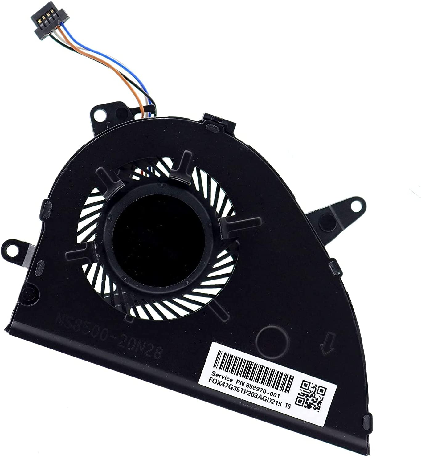 Hallwayee CPU Cooling Fan NS85B00-17K24 for outlet HP SEAL limited product Fit Graphics UMA