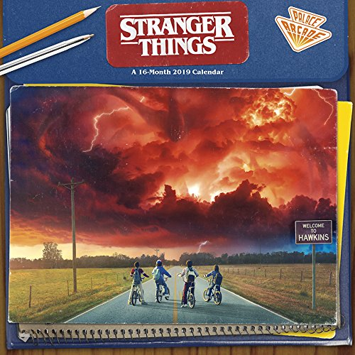 Stranger Things 2019 Wall Calendar