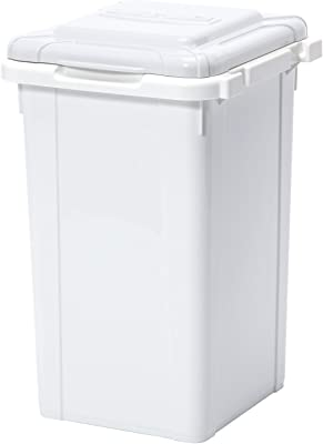 サンコープラスチック 日本製 ジョイント式 ゴミ箱 ビスダボ 33L Nホワイト 約幅32.7×奥行34×高さ51.3cm 451552