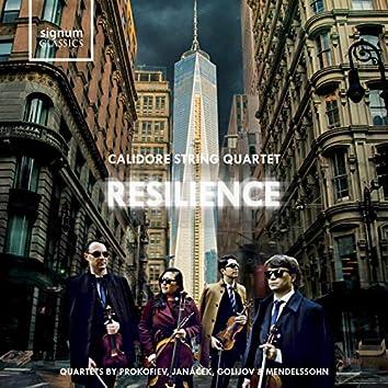 Resilience: String Quartets by Prokofiev, Janáček, Golijov and Mendelssohn