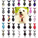 yagopet 30pcs New Pet Dog Neckties Dog Ties Adjustable Pet Grooming...