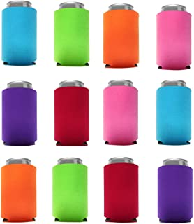 Can Cooler Sleeves Blank Poly Foam (12, Multi Color)