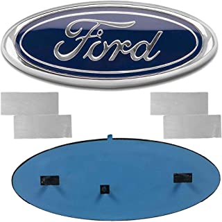 Carhome01 2004-2014 F150 Front Grille Tailgate Emblem for Ford, Oval 9