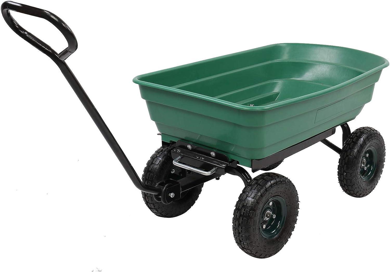 Mesh Steel Garden Cart Iron Gree Wheels Inexpensive Plastic Four Super-cheap