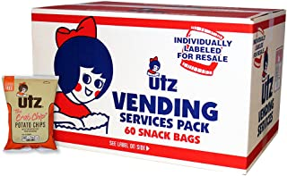 Utz Club Pack Chips, Crab, 60 Count (Pack of 60)