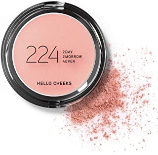 224 Cosmetics Blush Hello Cheeks : naturale, vegan & non testati sugli animali - feel good formule & senza parabeni e sili...