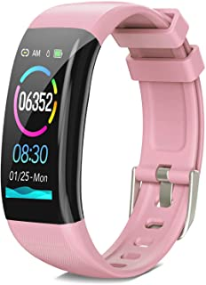 DoSmarter Fitness Tracker, Health Watch with All-Day Heart Rate Blood Pressure Monitoring,Waterproof Activity Tracker with Calories Miles Counter and Sleep Tracking for Women Man