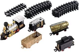 ColiCor Mini Circuit Train Electrique,Locomotive /électrique,Chemin de Fer /électrique de Train pour Enfant