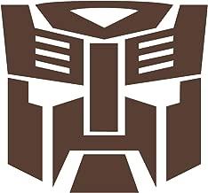 Wild Dingos LLC Autobot G1 Transformers Vinyl Decal Sticker Brown