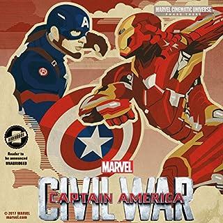 Phase Three: Marvel's Captain America: Civil War cover art