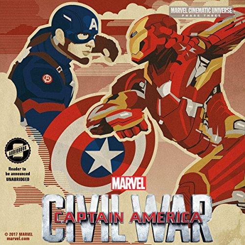 Phase Three: Marvel's Captain America: Civil War audiobook cover art