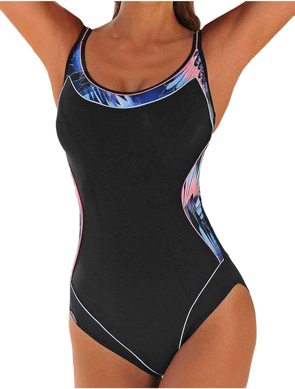 SUN FLAIR Marken-Mieder-Badeanzug, schwarz-bunt, E-Cup