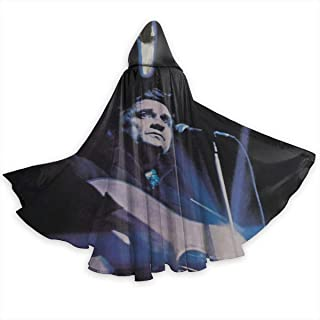JoyceMHunter Johnny Cash I Would Like to See CapeHalloween Costume Masquerade Cloak,Adult Halloween Cloak,Halloween Cape