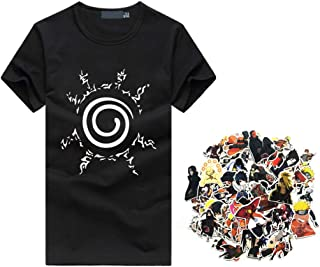 Vigorous Vibes Naruto Logo Tee + 60 Bonus Naruto Stickers