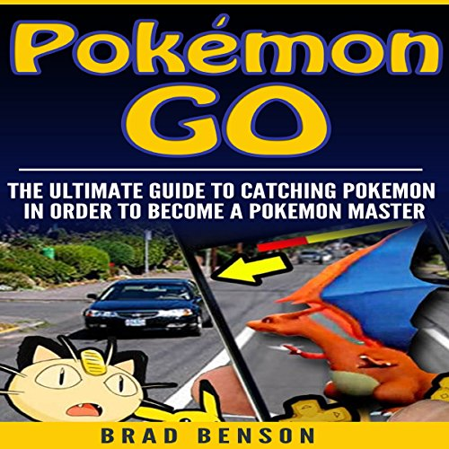 Pokemon Go audiobook cover art