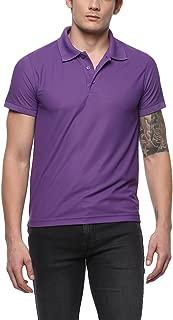 AMERICAN CREW Men's Polyester Polo T-Shirt