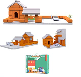 HLEZ Modèle Miniature Brique Accessoires De Construction Miniatures Mur De Ciment Bricolage, Mini Briques De Ciment Et Le ...