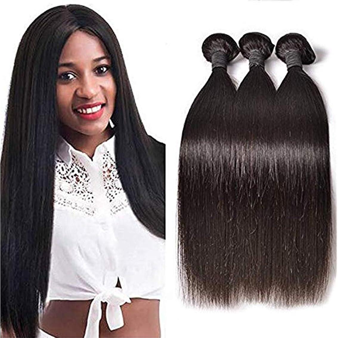 適応ワーディアンケース旅女性10Aブラジルバージン人間の髪の毛1バンドルストレートウェーブ横糸100%本物の人間の毛髪エクステンション自然毛織り