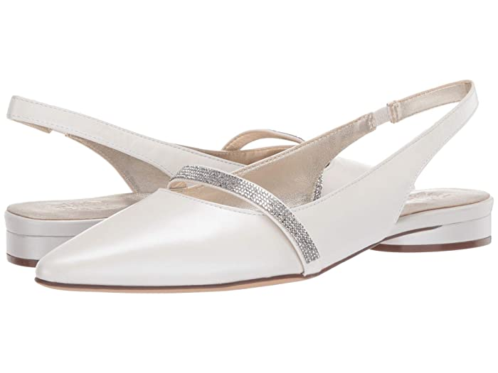60s Shoes, Boots Naturalizer Hally White Pearl Leather Womens Shoes $99.99 AT vintagedancer.com