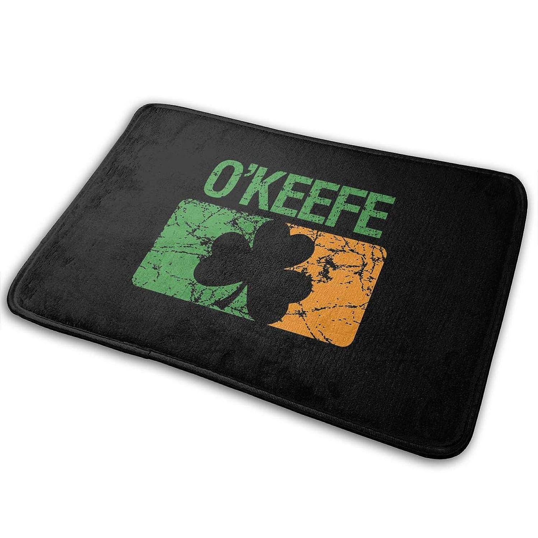 EWFXZq Okeefe Surname Clover Doormat Anti-Slip House Garden Gate Carpet Door Mat Floor Pads 15.7