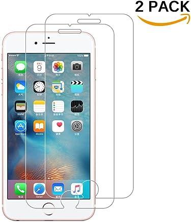 [2 Pack] Verre Trempé iPhone 6 Plus / 6S Plus, Protecteur d'écran iPhone 6 Plus écran protection iPhone 6S Plus haute transparence et ultra résistant, Sans Bulles