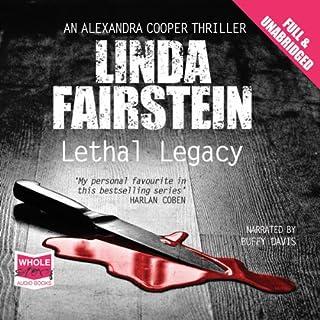 Lethal Legacy                   Autor:                                                                                                                                 Linda Fairstein                               Sprecher:                                                                                                                                 Buffy Davies                      Spieldauer: 12 Std. und 12 Min.     1 Bewertung     Gesamt 2,0