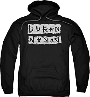 Duran Duran Print Error Unisex Adult Pull-Over Hoodie For Men and Women