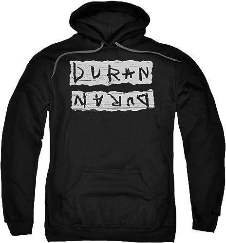 Duran Duran - - Sweat à Capuche imprimé d'erreur pour Hommes