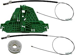 Kit Reparo Maquina Vidro Eletrico Com Arraste Dianteira Esquerda Gol G5