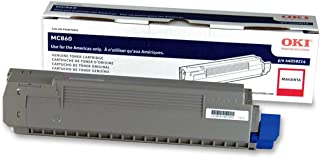 Okidata 44059214 Toner Cartridge for MC860 MFP, 10000 Page Yield, Magenta