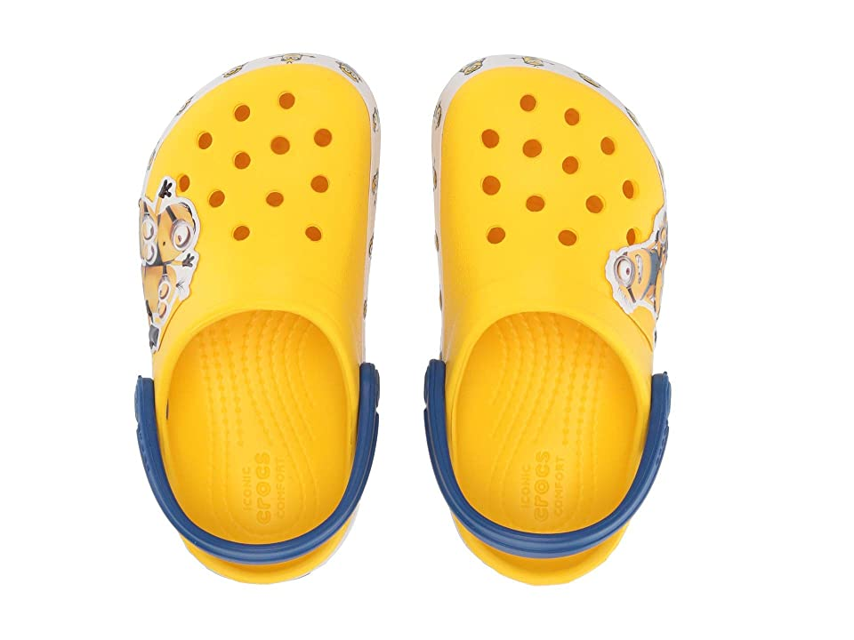 Crocs Kids CrocsFunLab Minions Multi Clog (Toddler/Little Kid) (Yellow) Kids Shoes