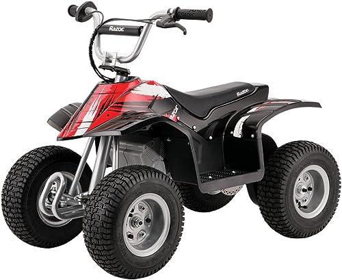 Razor Dirt Quad - Quad éléctrique pour enfant, noir et rouge - 24V
