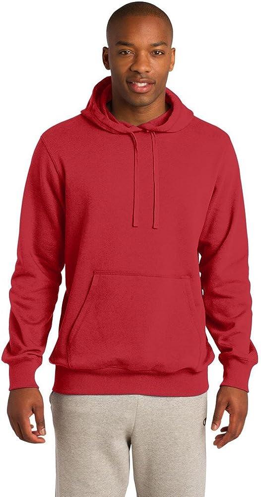 Sport Tek Tall Pullover Hooded Sweatshirt-3XLT (True Red)