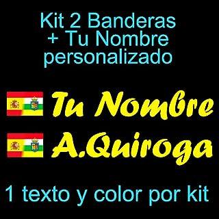 Amazon.es: pegatinas bandera españa