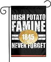 AnleyGardeflagsU Irish Potato Famine Garden Flag Indoor & Outdoor Decorative Flags for Parade Sports Game Family Party Wall Banner,12x18inch