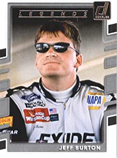 2018 Donruss NASCAR Racing #169 Jeff Burton LEG