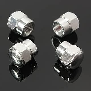 4 TAPONES  Aluminio Negros